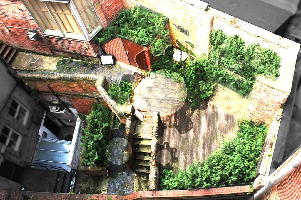 Vertical Garden Livingwall Green wall Nottingham